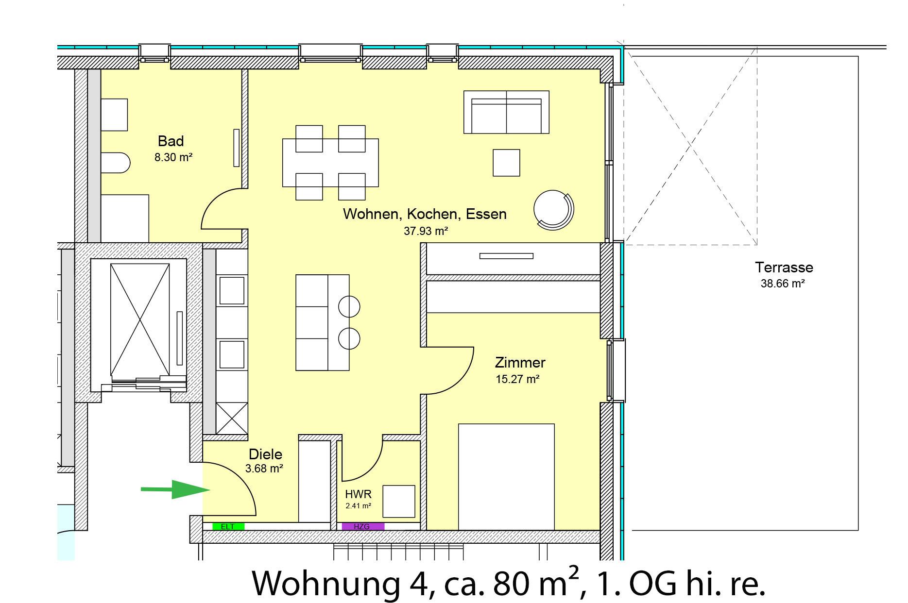 Wohnungstypen Der Wohnzwilling Hellwinkel Terrassen